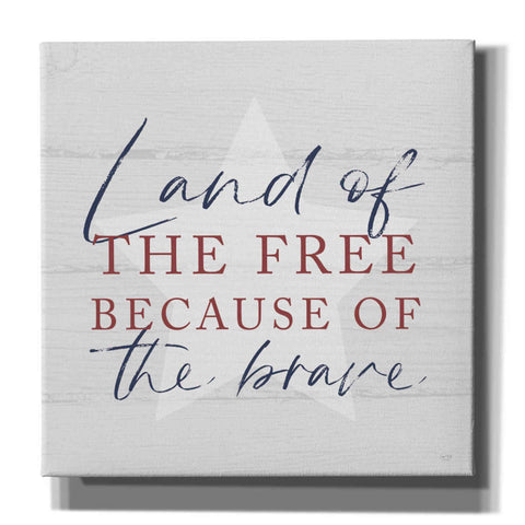 'Land of the Free' by Lux + Me, Canvas Wall Art