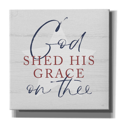 'God Shed His Grace' by Lux + Me, Canvas Wall Art
