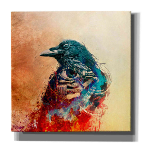 Image of 'Ravenscry' by Mario Sanchez Nevado, Canvas Wall Art