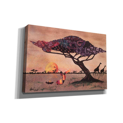 'Plains of Africa' by Alonzo Saunders, Canvas Wall Art