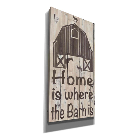 'Home and Farm I' by Alonzo Saunders, Canvas Wall Art