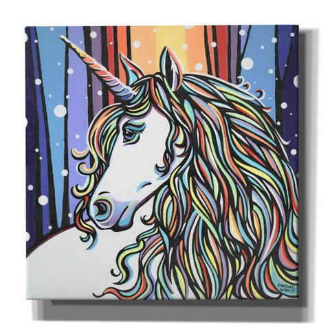 Image of 'Magical Unicorn II' by Carolee Vitaletti, Canvas Wall Art