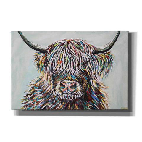 Image of 'Woolly Highland II' by Carolee Vitaletti, Canvas Wall Art