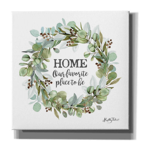 'Home-Our Favorite Place' by Kelley Talent, Canvas Wall Art