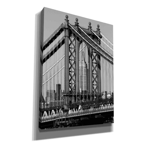 Image of 'Bridges of NYC I' by Jeff Pica, Canvas Wall Art