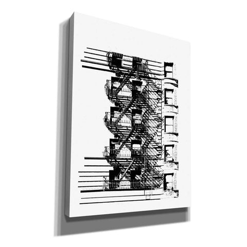 Image of 'NYC in Pure BandW XV' by Jeff Pica, Canvas Wall Art