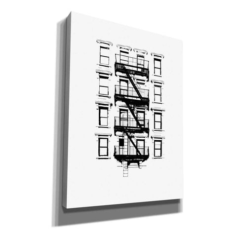 Image of 'NYC in Pure BandW XII' by Jeff Pica, Canvas Wall Art