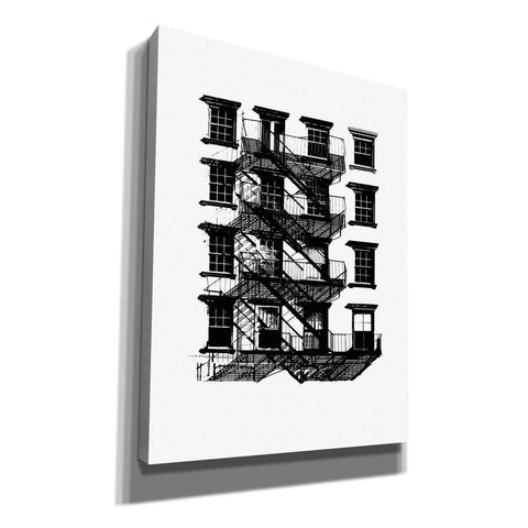 Image of 'NYC in Pure BandW IX' by Jeff Pica, Canvas Wall Art