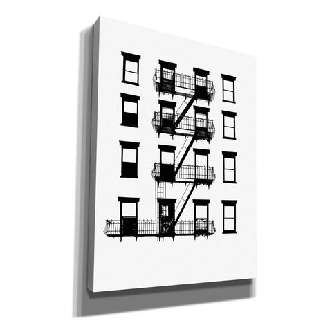 Image of 'NYC in Pure BandW VI' by Jeff Pica, Canvas Wall Art