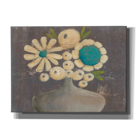 'Crackled Bouquet I' by Sue Jachimiec, Canvas Wall Art