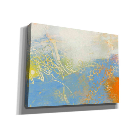 Image of 'Blue Lux II' by Sue Jachimiec, Canvas Wall Art