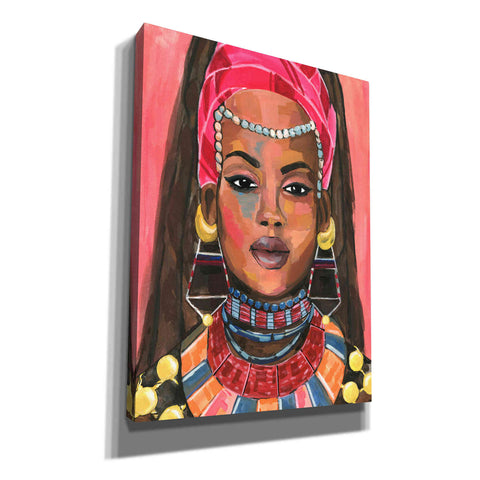 Image of 'Ornament Empress II' by Annie Warren, Canvas Wall Art