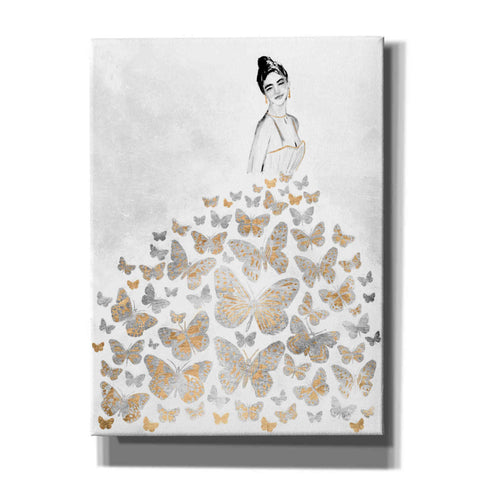 'Fluttering Gown I' by Annie Warren, Canvas Wall Art