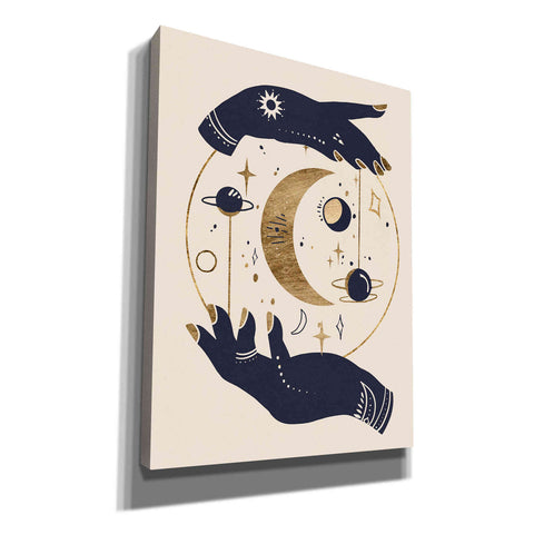 Image of 'Moon Hands I' by Annie Warren, Canvas Wall Art
