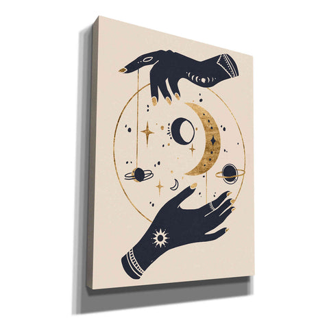 Image of 'Moon Hands II' by Annie Warren, Canvas Wall Art