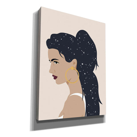 'Heavenly Hair III' by Annie Warren, Canvas Wall Art