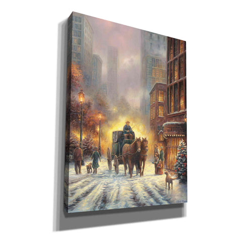 'Carriage Ride' by Chuck Pinson, Canvas Wall Art
