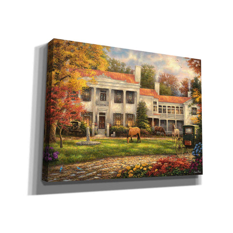 'Autumn Afternoon at Belle Meade' by Chuck Pinson, Canvas Wall Art