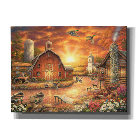 'Honey Drip Farm' by Chuck Pinson, Canvas Wall Art