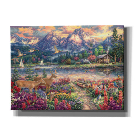'Spring Mountain Majesty' by Chuck Pinson, Canvas Wall Art