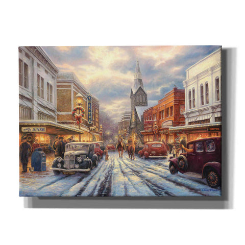 Image of 'The Warmth of Small Town Living' by Chuck Pinson, Canvas Wall Art