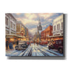 'The Warmth of Small Town Living' by Chuck Pinson, Canvas Wall Art