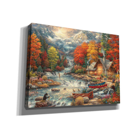 'Treasures of the Great Outdoors' by Chuck Pinson, Canvas Wall Art