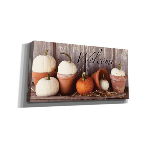'Welcome Pumpkin' by Anthony Smith, Canvas Wall Art