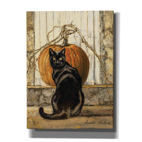 "Image of ""Black Cat"" by Bonnie Mohr, Canvas Wall Art"