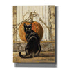 """Black Cat"" by Bonnie Mohr, Canvas Wall Art"