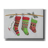 'Be Merry Stockings' by Diane Kater, Canvas Wall Art