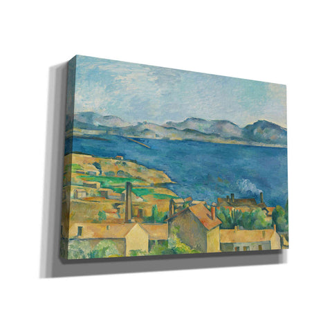 'The Bay of Marseilles, Seen from L'Estaque ' by Paul Cezanne, Canvas Wall Art