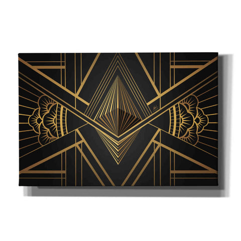 'Art Deco Ethereum' by Katalina, Canvas Wall Art