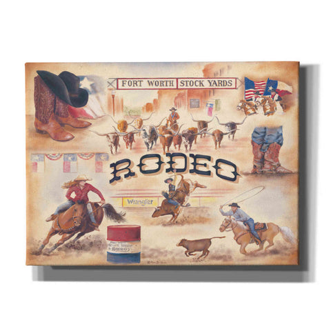 'Rodeo' by Pam Britton, Canvas Wall Art