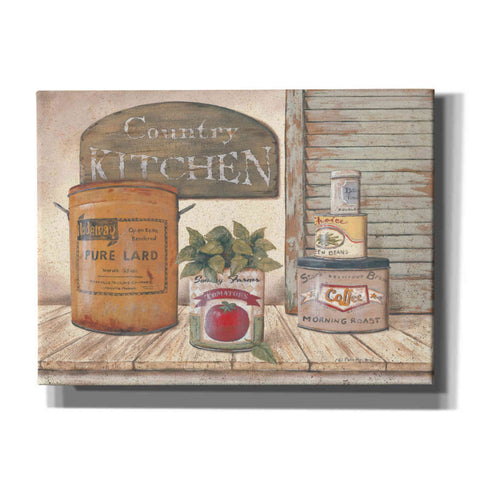 'Mom's Kitchen II' by Pam Britton, Canvas Wall Art