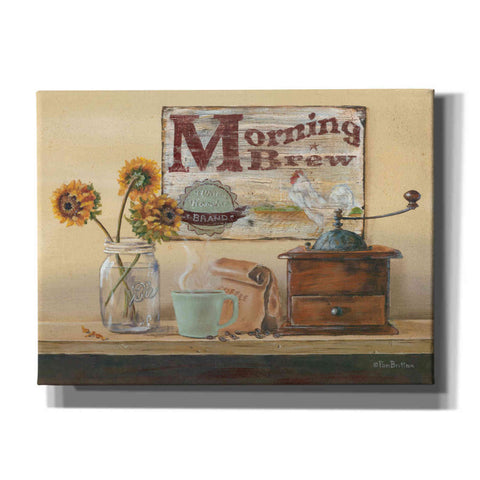 'Morning Brew' by Pam Britton, Canvas Wall Art