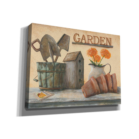 'Garden Shelf II' by Pam Britton, Canvas Wall Art