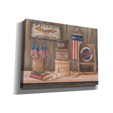'Sweet Land of Liberty' by Pam Britton, Canvas Wall Art