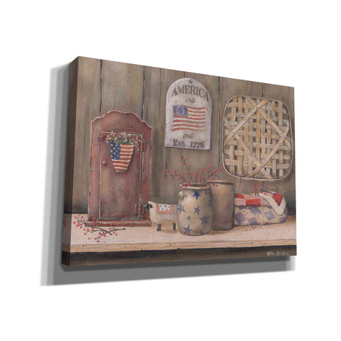 'America Est. 1776' by Pam Britton, Canvas Wall Art