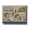 'Garden Farmhouse Kitchen' by Pam Britton, Canvas Wall Art