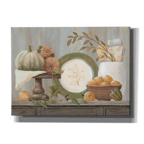 'A Harvest Kitchen' by Pam Britton, Canvas Wall Art