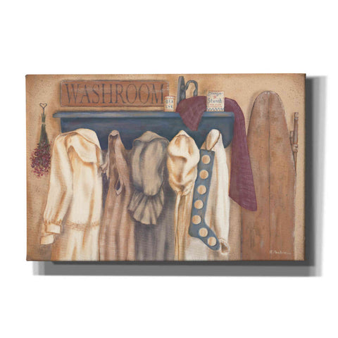 'Washroom Assortment' by Pam Britton, Canvas Wall Art