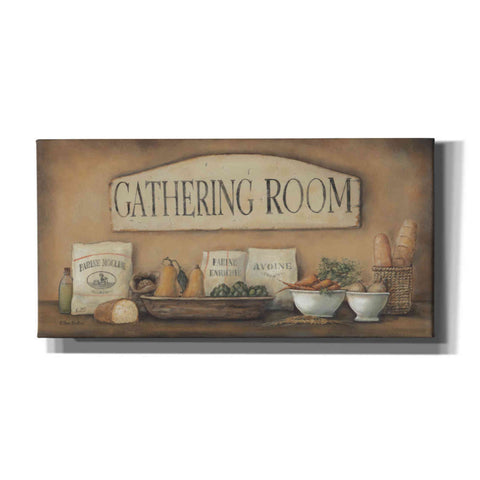 'Gathering Room' by Pam Britton, Canvas Wall Art