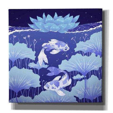 'Serenity Blue' by Avery Multer, Canvas Wall Art