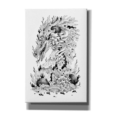 'Coral Dragon ' by Avery Multer, Canvas Wall Art