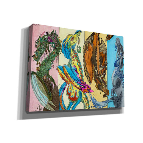 'The Four Seasons' by Avery Multer, Canvas Wall Art