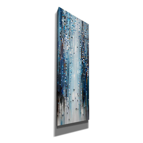 Image of 'City Blues' by Ekaterina Ermilkina, Canvas Wall Art