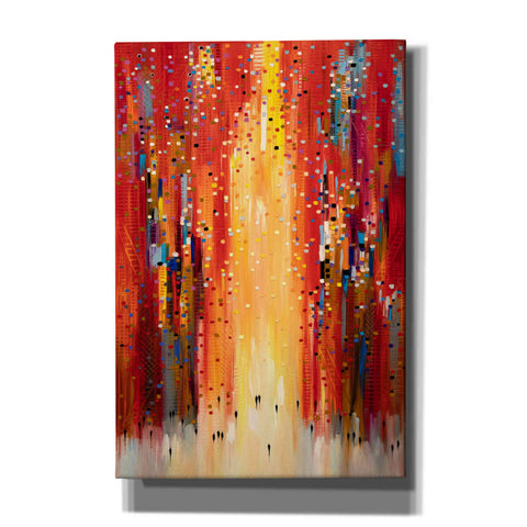 'Red Sky' by Ekaterina Ermilkina, Canvas Wall Art
