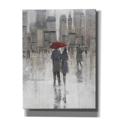 Image of 'Rain in The City I' by Tim O'Toole, Canvas Wall Art