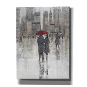 'Rain in The City I' by Tim O'Toole, Canvas Wall Art